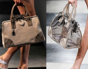 модные сумки от Прада на весну - лето 2010. сумки из новой коллекции...