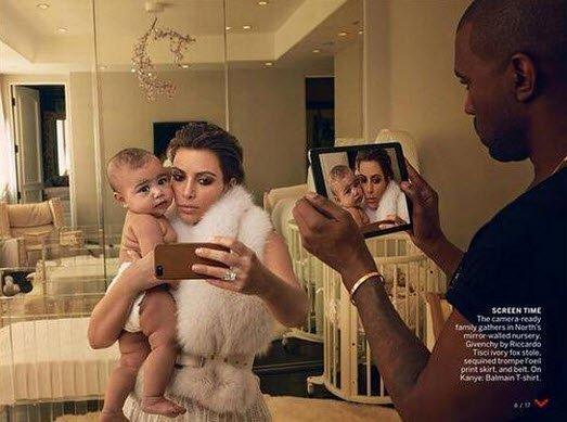 Kim Kardashian voque3