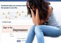 facebook depresie